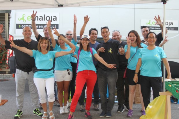 Equipe emaloja World Clean Up Day